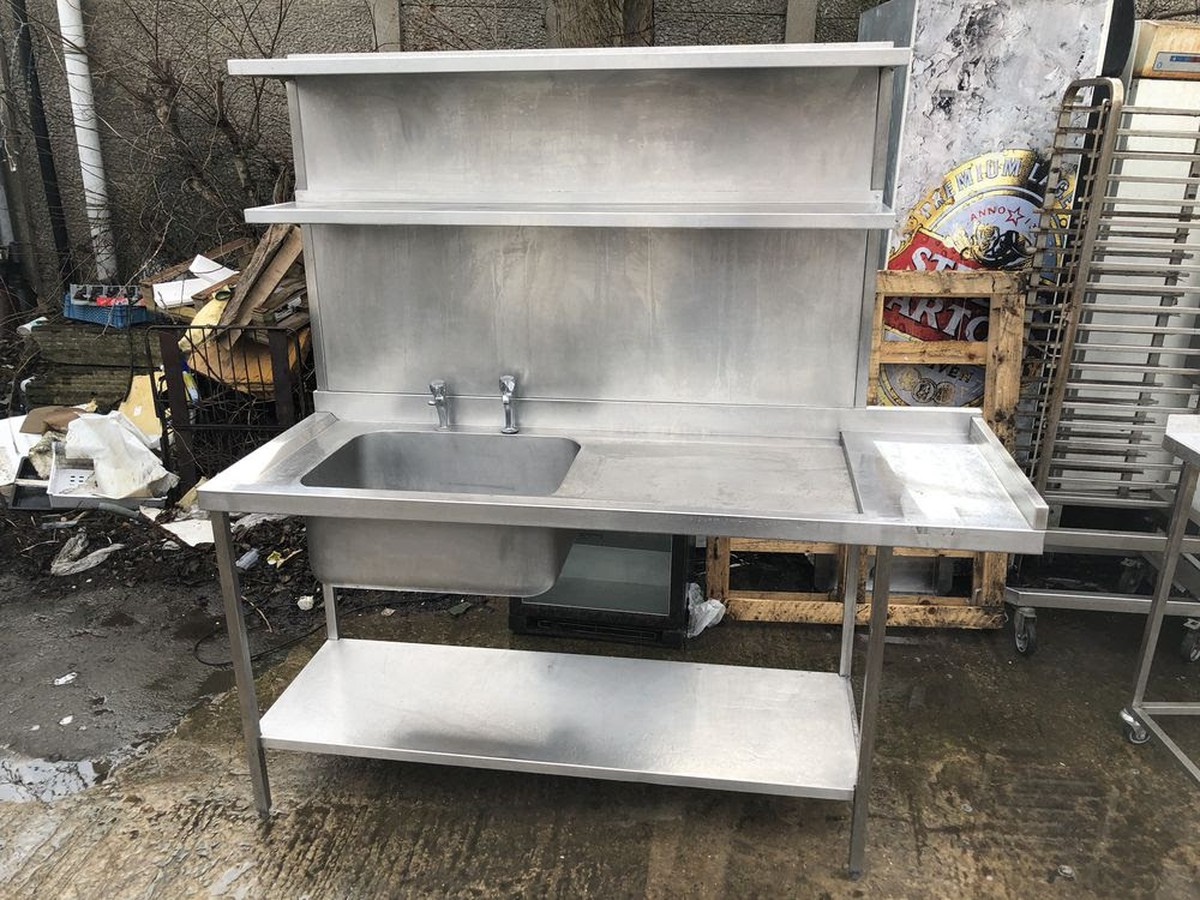 used kitchen sinks for sale semi custom cabinets secondhand catering equipment cheaper