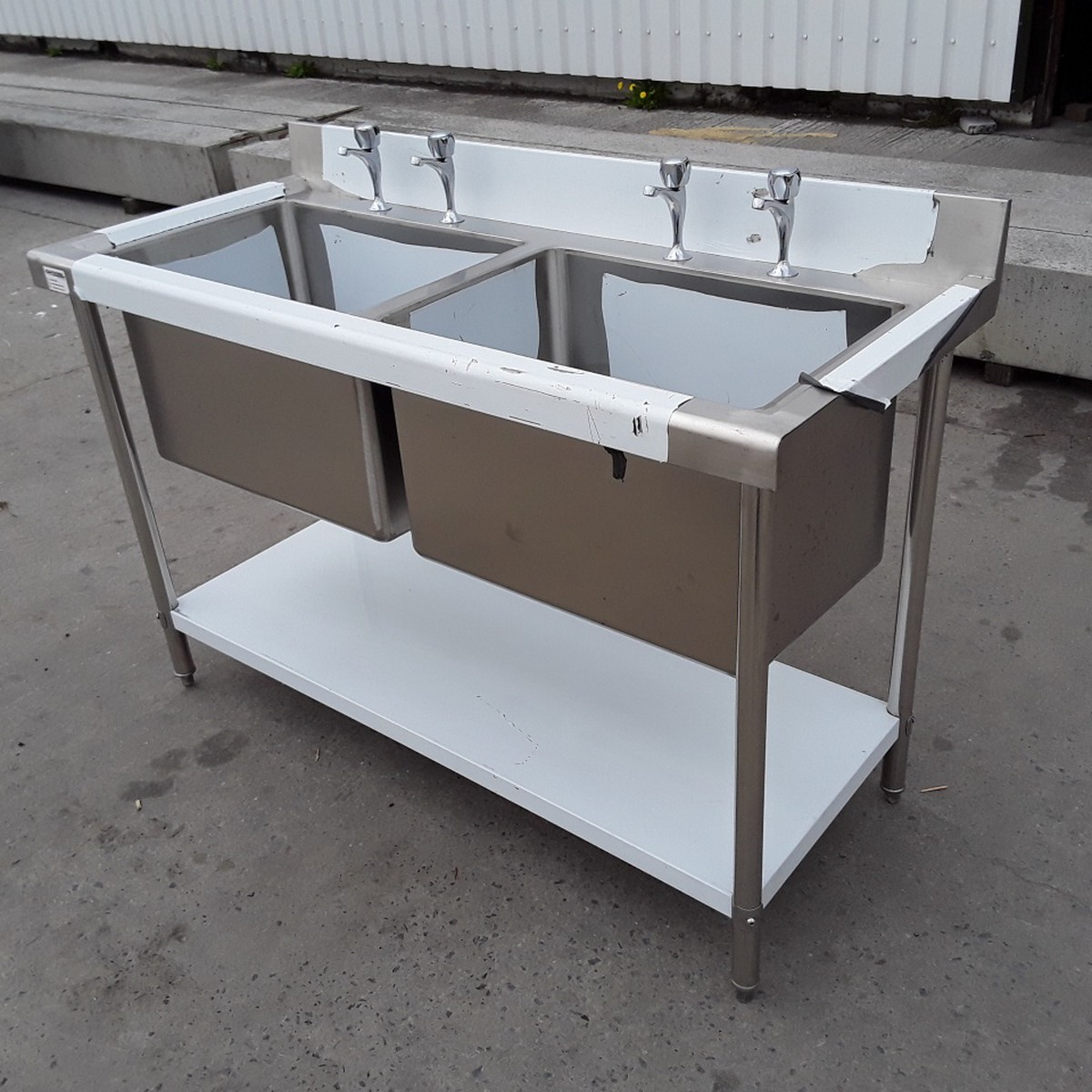 used kitchen sinks for sale antique red cabinets secondhand catering equipment double new b grade
