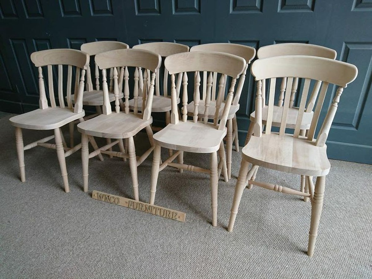 chair covers yeovil salon hooded hair dryer with secondhand chairs and tables restaurant 36x brand new farmhouse for sale spindle back