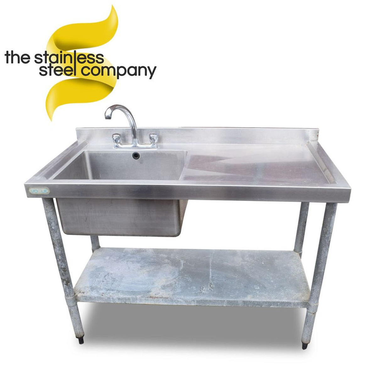 used kitchen sinks for sale home depot countertops secondhand catering equipment single 1 2m