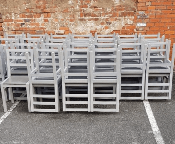folding chair job lot swivel patio chairs big lots curlew secondhand marquees trade furniture sales derbyshire