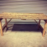 Secondhand Chairs And Tables Trestle Tables Rustic Reclaimed Wooden Tables Trestle Or Folding Legs