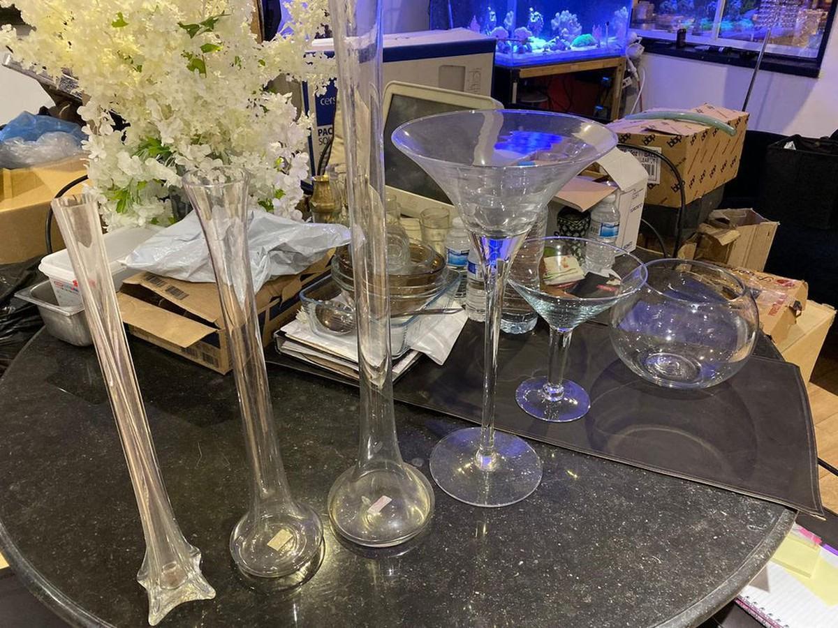 secondhand prop shop table decor