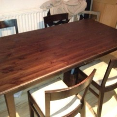 Used Oak Table And Chairs Infinite Position Recliner Power Lift Chair Secondhand Tables Restaurant