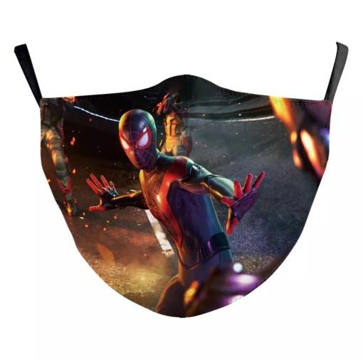 Mascarilla reutilizable Spiderman (2)