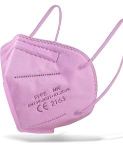 mascarilla kn95 rosa para adultos