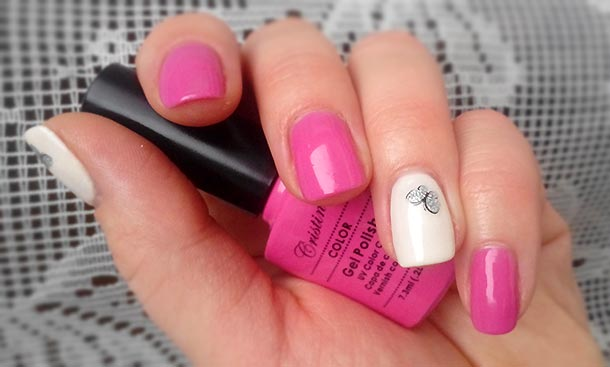 Уроки дизайна ногтей пошагово гель лаком