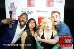 Blu Lindsey, Kaylee Nevo, Sage Martin and guest