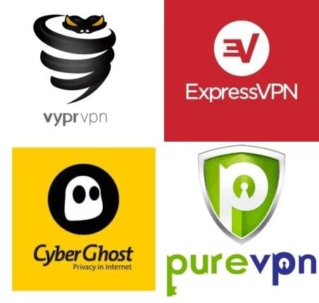 Melhores e mais baratos VPNs