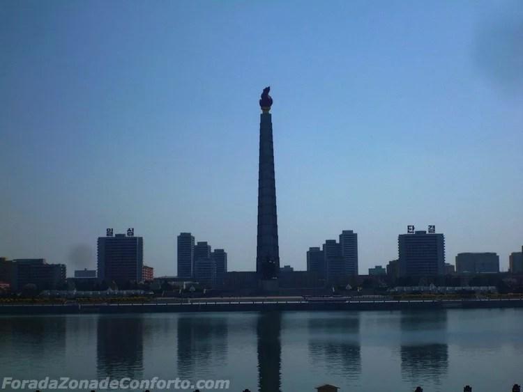 Torre Juche Pyongyang Coreia do Norte