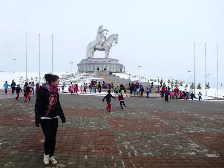 Genghis Khan na Mongolia