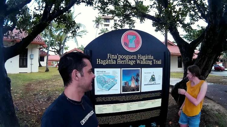 Hagåtña trail