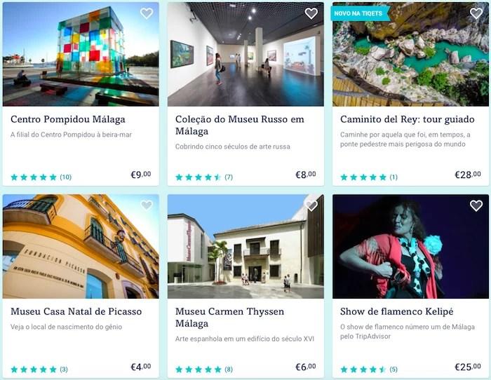 atividades e passeios in Malaga