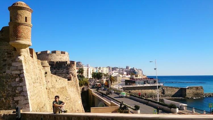 Paredes Reais Ceuta Espanha