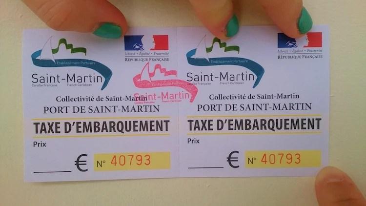 Taxa do barco Anguilla