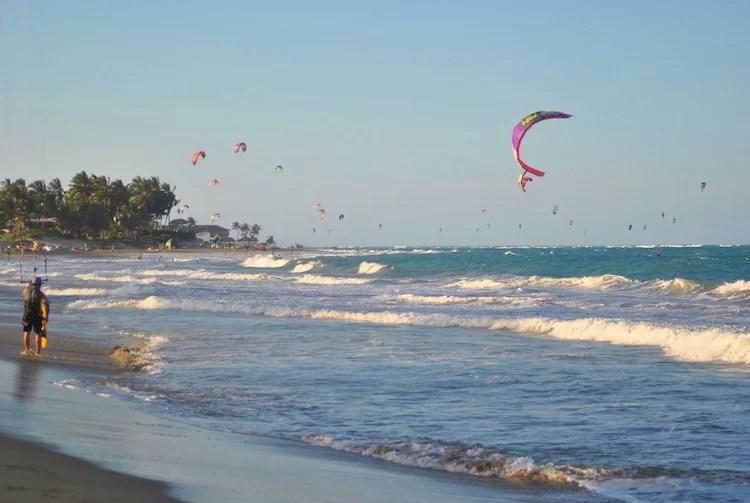 Kitesurfing Cabarete