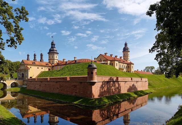 Nesvizh castle Belarus
