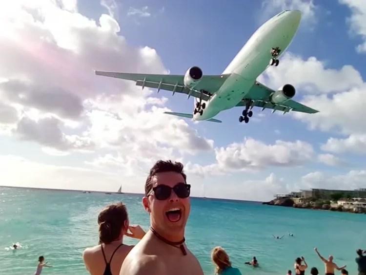 Avião St Maarten