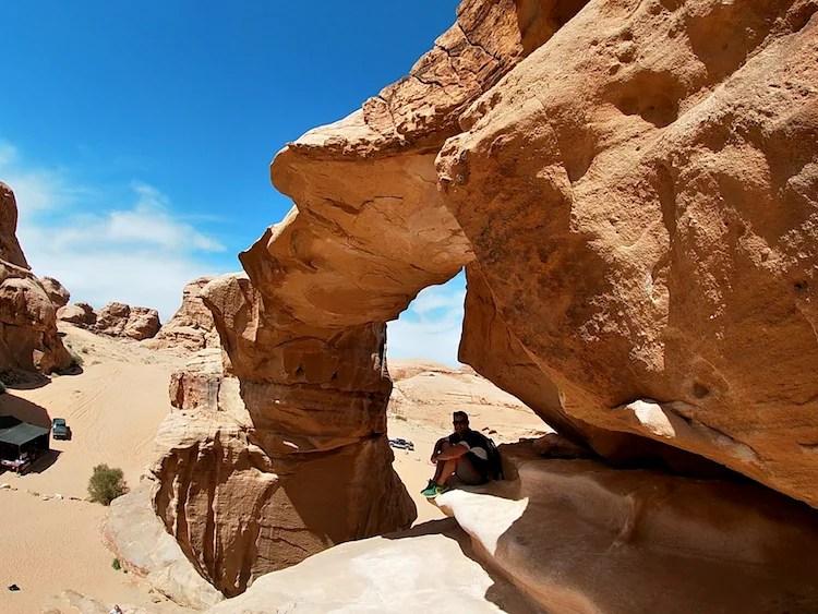 Ponte de pedra Jordania