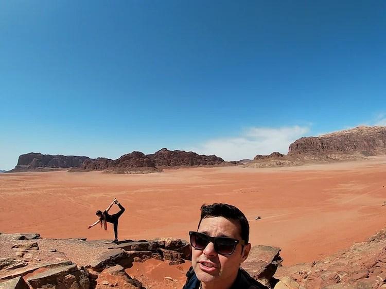 Yoga no deserto