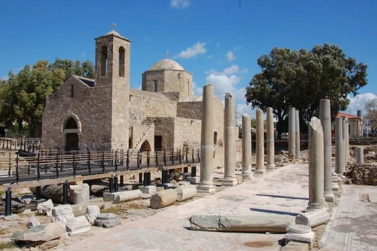 Ruínas de Chipre