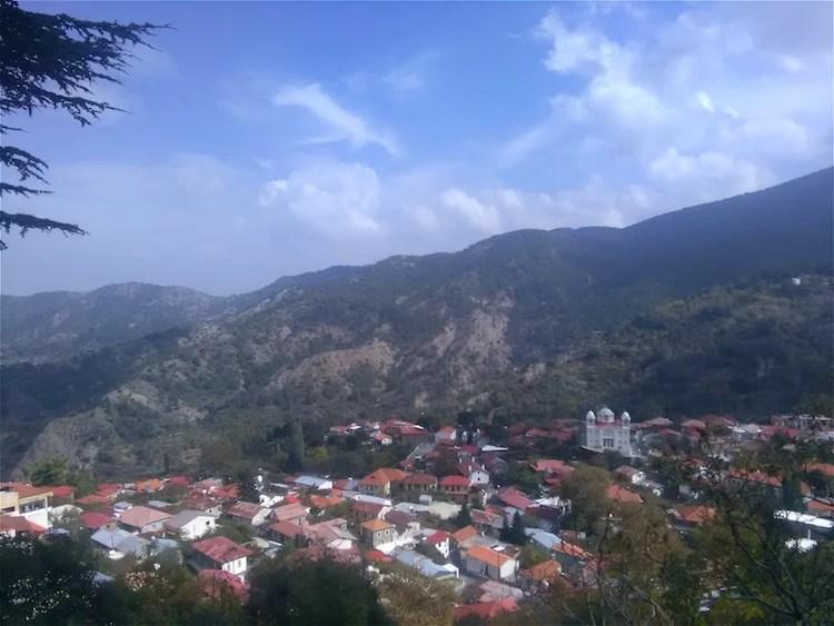 Montanhas Troodos Chipre