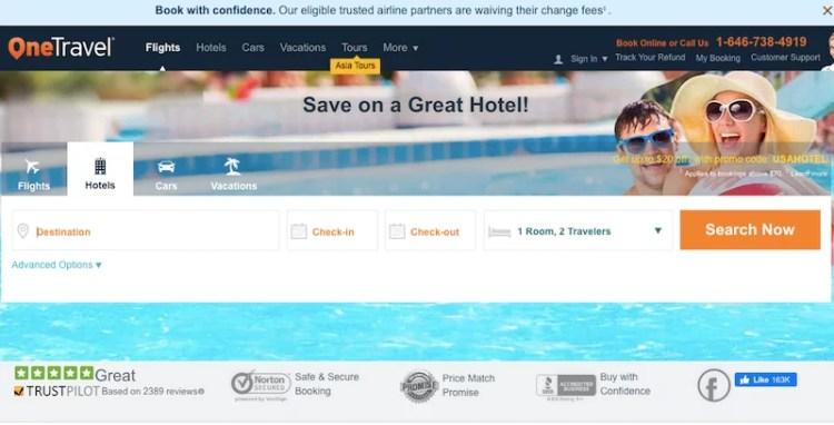 reservar hotel nos Estados Unidos