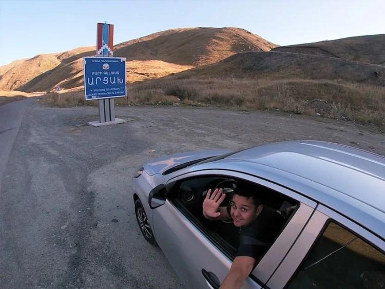 Fronteira Nagorno-Karabakh