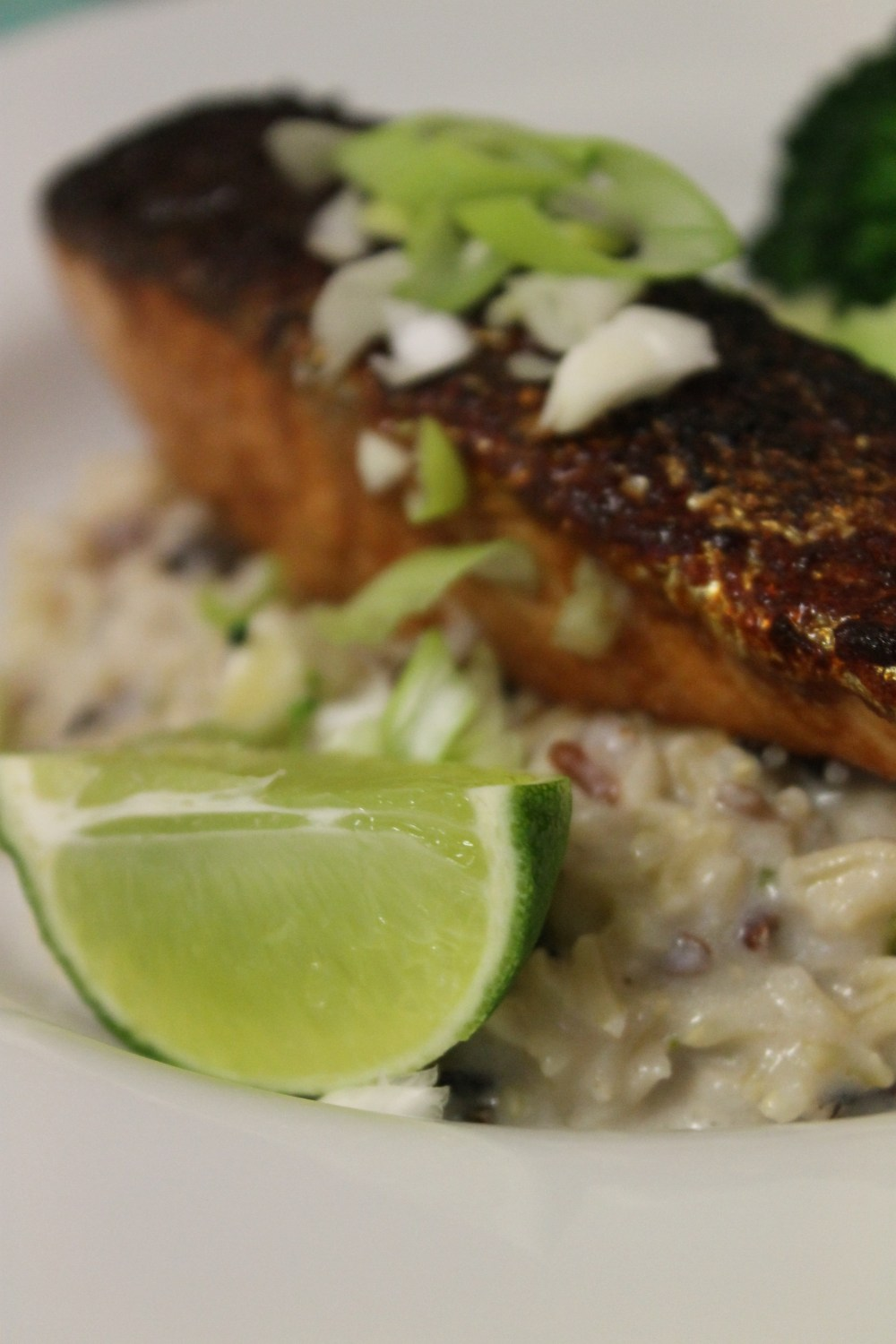 Asian Salmon and Coconut Rice