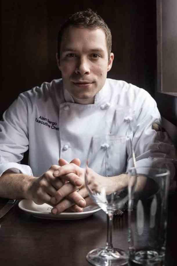 Chef Alan Bergo, portrait