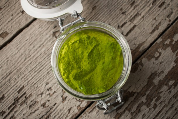 Ramp Leaf Pesto Recipe
