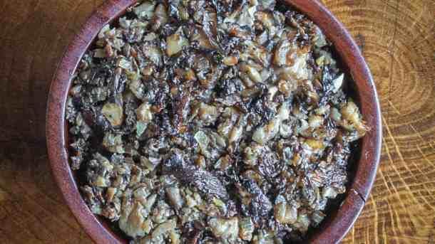 Wild mushroom duxelles recipe