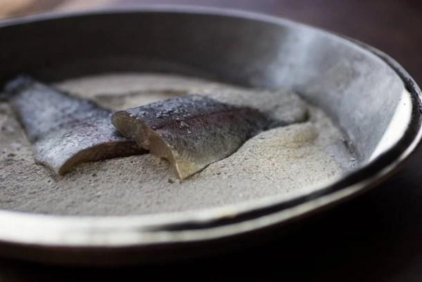 rainbow trout wild rice flour