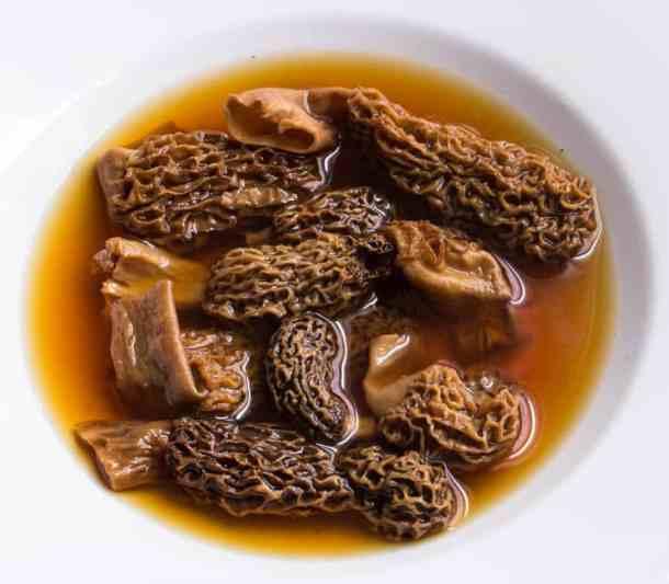 morels, dried mushroom, dried morels
