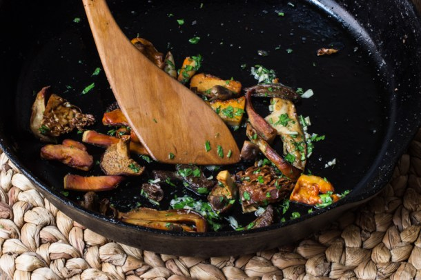 Wild Mushrooms With Garlic And Parsley