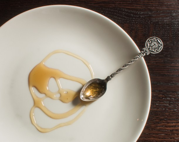 Caramelized Spruce Tip Syrup