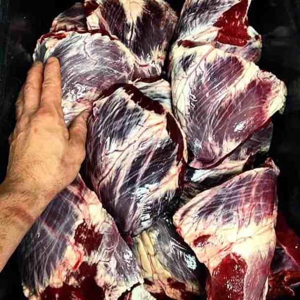 beef heart, offal