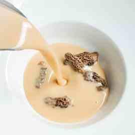 morel mushrooms bisque