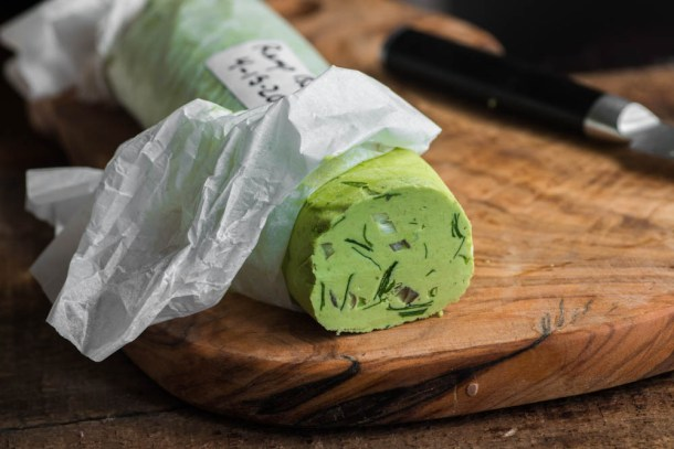 Ramp Leaf Compound Butter Recipe