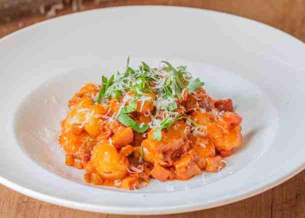 Lobster Mushroom Bolognese