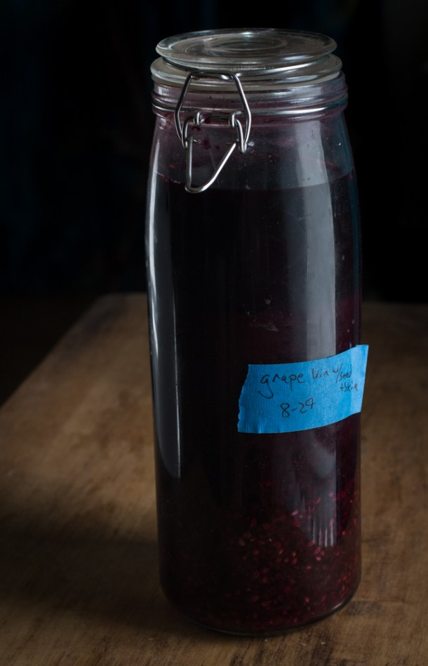 Wild Grape Vinegar