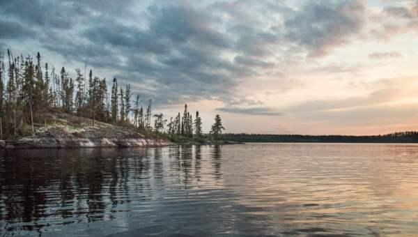 Fly-In Fishing on Lake Brennan, Ontario (