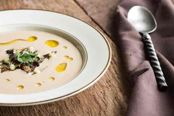 Parched wild rice mushroom bisque recipe (2)
