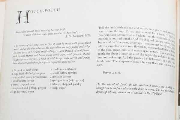 Hotch Potch Recipe