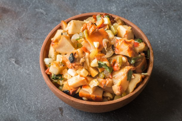 Lobster mushroom salsa recipe
