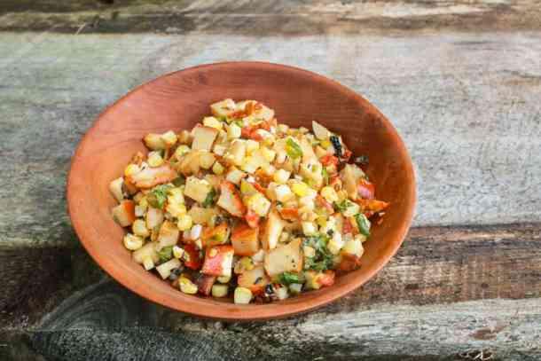 Lobster mushroom recipe for salsa