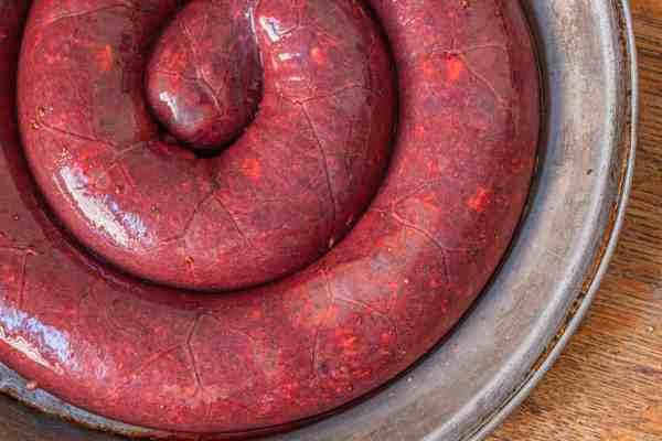 Chicken blood sausage recipe