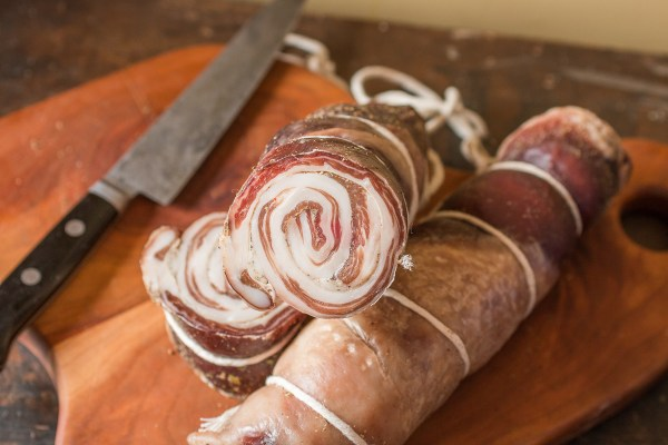 Cured venison pancetta recipe