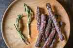 Dried ramp leaf venison jerky recipe