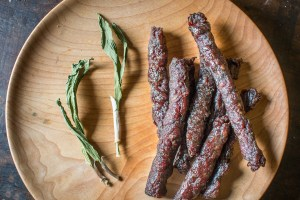 Dried ramp leaf venison jerky recipe